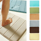 Microfibre Memory Foam Bathroom Shower Bath Mat With Non Slip Back Backing