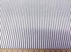 Discount Fabric Premier Prints Classic Stripe Black and White Ticking 04PR