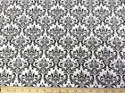 Discount Fabric Premier Prints Maddison Black and White 07PR
