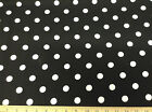 Discount Fabric Premier Prints Polka Dots Black and White 09PR