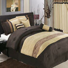 Sonata Luxury 7PC Comforter Set, Includes Comforter, Skirt, Shams and Pillows