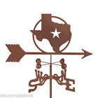 Texas Lone Star State Weathervane Weather Vane - with Choice of Mount