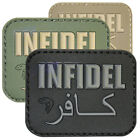 Viper Morale Rubber Velcro Infidel Army Military Airsoft Novelty Paintball Patch