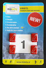 BIBBITS Magnetic Race Number Holders, No more Pins, Choice of Colours 4 in pack