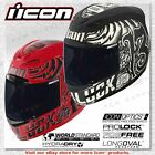 Icon Airmada Hard Luck Full Face Street Motorcycle Helmet DOT ECE SAI SG