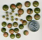 UNAKITE Round Cabochons Pack of 4 - you select size 4-8-10mm  Natural Stone