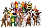 Storybook Animal Kids Fancy Dress Book Day Week Boys Girls Childrens Costume New