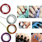 5 Rolls Fashion Colorful Striping Tape Line Nail Art Tips Decoration Stickers