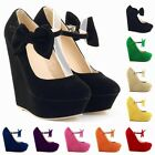 2014NEW WOMENS SEXY HIGH HEELS WEDGES SHOES PLATFORM STRAPPY SUMMER SIZE US 4-11