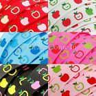 "Grosgrain Ribbon 10mm 3/8"" Apple"