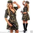 I81 Military Pin Up Army Soldier Uniform Police Top Gun Fancy Dress Costume