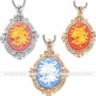 Retro Rhinestone Cameo Christmas Bell Charm Pendant Fit Necklace DIY Xmas Gift