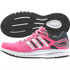 Adidas Kids Girls Duramo 6 Running Trainers Shoes - Pink & Silver - Sizes 3 4 5