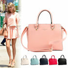 New Women Handbag Faux Leather Ladies Tote Cross Body Shoulder Bag Purse Satchel