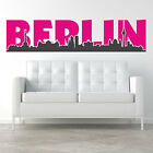 WALL STICKERS Berlin Silhouette City Name City | Wall Stickers Wall Stickers