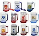 OFFICIAL FOOTBALL CLUB ICE COLD BEER DRINKS FREEZER MUG / TANKARD