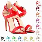 Ladies Sexy Party Open Toe Bridal High Heels Shoes Sandals Pumps US Size 4-11