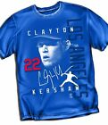 Clayton Kershaw Los Angeles Dodgers  T-Shirt  - Adult Sizes Brand New