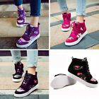 Camouflage high-top canvas shoes Fashion casual Velcro muffin sneakers XP0036