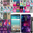 For LG G3 D850 D851 LS990 VS985 Art Design PATTERN HARD Case Back Cover  + Pen