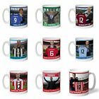 Personalised Football Club Shirt Manager Mugs Gift Ideas for Fans - Souvenirs