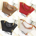 Fashion Women Lady Hobo Shoulder Bag Faux Leather Satchel Tote Women Handbag
