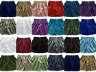 "Mens Thai Silk Loose Boxer Shorts / 40""- 46"" / Underwear / SleepWare / 21 Colour"
