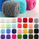 100g Fashion Super Soft Double Knitting Chunky Towelling Wool Ball Skeins Yarn Y