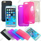 Housse Etui Coque Silicone Motif S-line Gel Souple Apple iPhone 6 4,7""