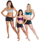 NEW BOOTY SHORTS ONLY  Dance Sequins Gia-Mia All Sizes Select your Colour