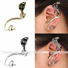 Vintage Punk Mens Snake Cartilage Left Ear Cuff Wrap Clip Earring Rock Jewerly