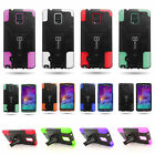 Dual Layer Hybrid Stand Tough Phone Cover Case for Samsung Galaxy Note 4