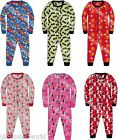 CHILDRENS BOYS GIRLS COTTON ALL IN ONE SLEEPSUIT SLEEPWALKER PYJAMAS NIGHTWEAR