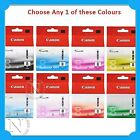 Any 1x Genuine Canon CLI-8 Color Ink Cart-  MP960/MP970/PRO9000/PRO9000 MARK II