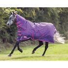 Shires Tempest Mediumweight Full Neck Combo Turnout rugs Spotty Rugs  BNIB
