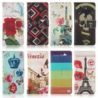 """Floral Colorful Card Holder Wallet PU Leather Case Cover For Apple iPhone 6 4.7"""""""