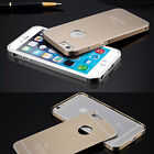 """New Ultra-thin Aluminum Case Cover with Metal Back For iphone6 4.7""""/Plus 5.5in"""