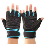 Weight Lifting Training Fitness Workout Wrist Wrap Exercise Gloves New GFY