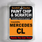 MERCEDES CL TOUCH UP PAINT Stone Chip Scratch Car Repair Kit 2000-2004