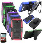 Rugged Case For Alcatel One Touch Pop icon Cover Stand + Holster + Screen Guard