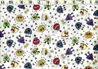 Quilting Treasures Monsters Aliens 3 Colors U Pick 100% Cotton Quilt Fabric BTY