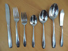 Wallace Stainless Steel Flatware WAS31 Glossy Scroll Handle Your Choice