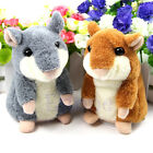 Electronic Hamster Plush Mimicry Pet Talking Sound Record Toy Funny Gift Kids