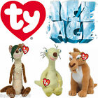 OFFICIAL ICE AGE THE MOVIE TY BEANIE BABIES COLLECTABLE WITH TAGS SID BUCK DIEGO