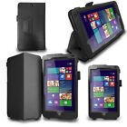 "LUXFOLIO STAND LEATHER CASE WALLET FOR HP STREAM 7"" TABLET"