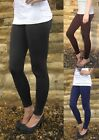 LONG Length Leggings HIGH RISE Combed Cotton SIZES 8 - 24