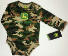 NEW John Deere Camo Long Sleeve One Piece 3 6 9 12 Month
