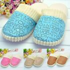 Women/Men Plush Slippers Winter Warm Home Bedroom Indoor Flock Casual Shoe B20E