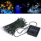 Solar Power 12m 100LEDs Waterproof String Fairy Light Party Garden Outdoor Decor