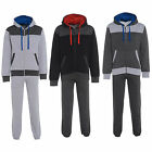 New Mens Fleece Jogging Sweatshirt Suit Full Tracksuit Top Bottoms Pant UK S-XXL